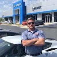 Chris Hardison at Cooper Chevrolet Buick