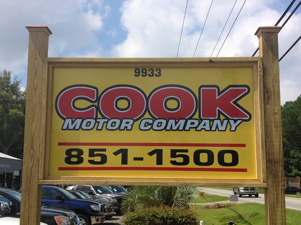 Cook Motor Company, Ladson, SC, 29456