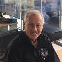 Jim Koschkee at Symdon Motors