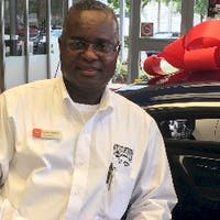 Locksley Sanderson at Coral Springs Nissan