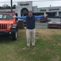Christian Newsome at Cronic Chrysler Dodge Jeep RAM