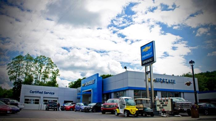 Upstate Chevrolet Chevrolet Used Car Dealer Service