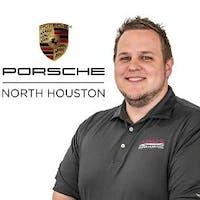 Jon  Gosling  at Porsche North Houston - Service Center
