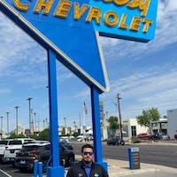 Cody Strawbridge at Courtesy Chevrolet