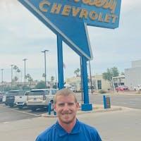 Justin Parsons at Courtesy Chevrolet