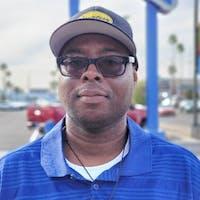 Sylvester Johnson at Courtesy Chevrolet