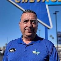 Roberto  Romero at Courtesy Chevrolet