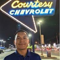 David  Escobar  at Courtesy Chevrolet