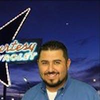 Erik Montano  at Courtesy Chevrolet - Service Center