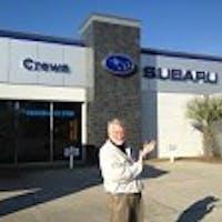 Ken French at Crews Subaru of Charleston
