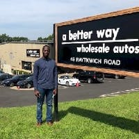 Emmanuel Nanadoum at A Better Way Wholesale Autos
