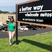 Nora Delavaga at A Better Way Wholesale Autos