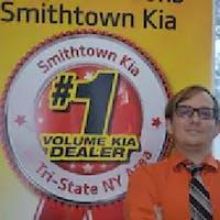 Mike  Halliday at Smithtown Kia