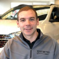 Andrew Schwinghammer at West Metro Buick GMC