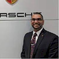 Gursh Singh at Jack Daniels Porsche