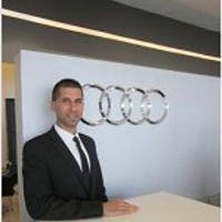 Ariel Esparza at Audi Dominion