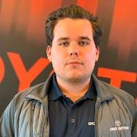 Bryan Welk at Chuck Hutton Toyota