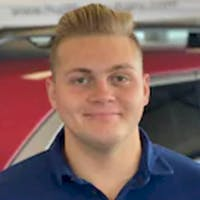 Ethan Davis at Hudiburg Subaru