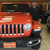 Chris Engelage at Auto Plaza Chrysler Dodge Jeep Ram Farmington