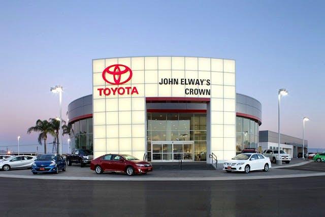 John Elway Dealership >> John Elway S Crown Toyota Toyota Service Center