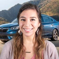 Erica  Caja at Ganley Subaru East