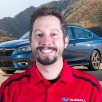 Jason  Caja at Ganley Subaru East