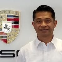 Jun Felino Quinto at Porsche Monterey
