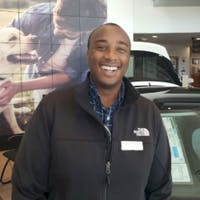 Yannick Gakumba at Larry H. Miller Volkswagen Lakewood