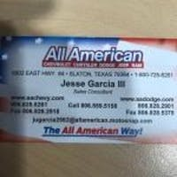 Jesse  Garcia at All American Chrysler Dodge Jeep