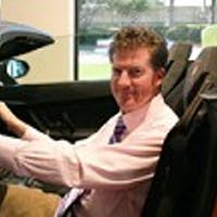 John Hrad at Lamborghini Dallas