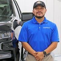 Carlos Perez at Dan Cummins Chevrolet Buick of Paris