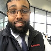 Cameron Holifield at Easterns Automotive Group of Temple Hills