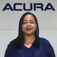 Myshelle Peguero at Curry Acura
