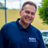 Manny Grande at Michael's Auto Sales Corporation