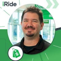 Eric Cuellar at iRide Used Cars