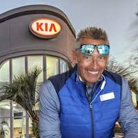 Eddie Gilbert at Myrtle Beach KIA