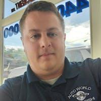 Brandon Enstrom at Auto World Mitsubishi