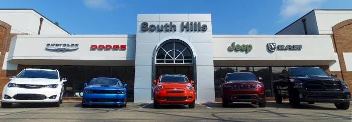 South Hills Chrysler Dodge Jeep RAM FIAT, McMurray, PA, 15317