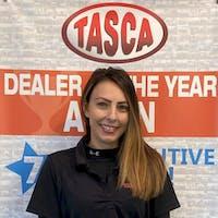 Jenna Rice at Tasca Kia