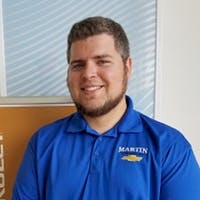 Brad Nichols at Martin Chevrolet - Service Center