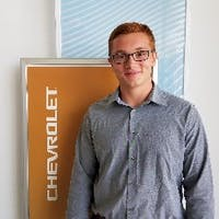 Kaelan Connell at Martin Chevrolet