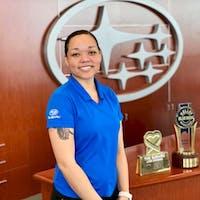 Olivia Lawrence at Subaru of Las Vegas