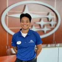 Jaina McLean at Subaru of Las Vegas