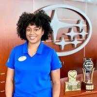 Essence Jones at Subaru of Las Vegas