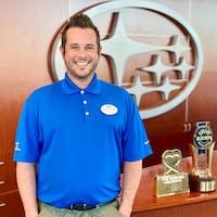 Trey Shaw at Subaru of Las Vegas