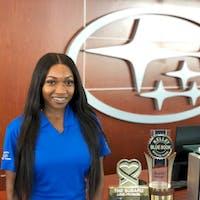 Tennesha  Hibbert at Subaru of Las Vegas