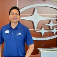 Edo Alfaro at Subaru of Las Vegas