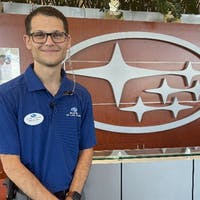 Jordan Mills at Subaru of Las Vegas