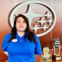 Tina  Wicker at Subaru of Las Vegas