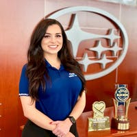 Andrea Kelly at Subaru of Las Vegas